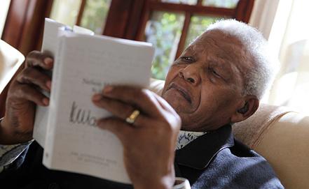 Нельсон Мандела. Фото EPA/ИТАР-ТАСС