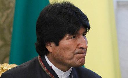 Президент Боливии Эво Моралес Фото EPA/ИТАР-ТАСС