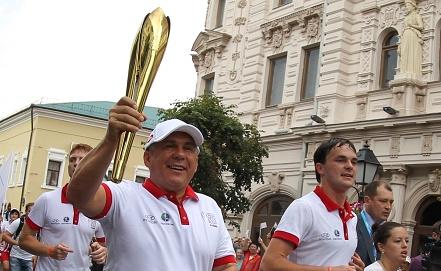 Рустам Минниханов /слева/    Фото ИТАР-ТАСС