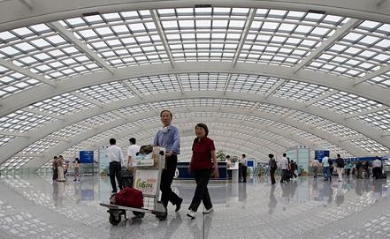 Пекин, аэропорт. Фото EPA/ИТАР-ТАСС