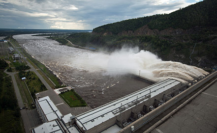 Зейская ГЭС. Фото ИТАР-ТАСС/ Виталий Рагулин