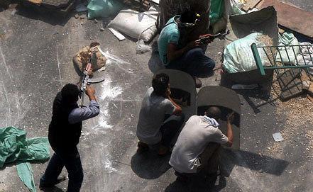 Cторонники Мухаммеда Мурси. Фото EPA/ИТАР-ТАСС