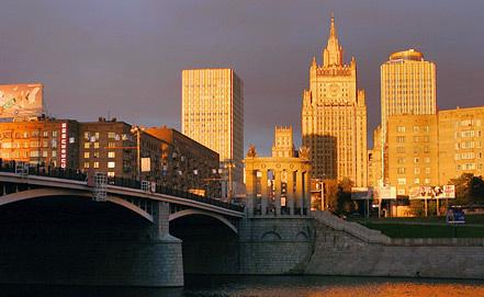 Здание МИД, фото ИТАР-ТАСС/ Марина Лысцева