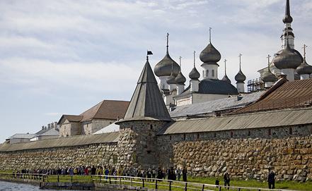 Спасо-Преображенский Соловецкий монастырь. Фото ИТАР-ТАСС/ Сергей Метелица