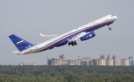 Самолет специального назначения Ту-214ОН, фото ИТАР-ТАСС/Марина Лысцева