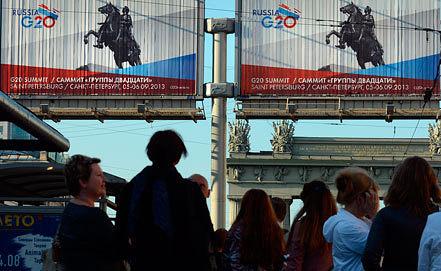 Подготовка Санкт-Петербурга к Саммиту G20. ИТАР-ТАСС/ Руслан Шамуков