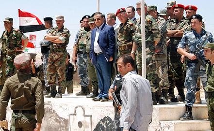 Военные учения в Сирии. Фото EPA/ИТАР-ТАСС