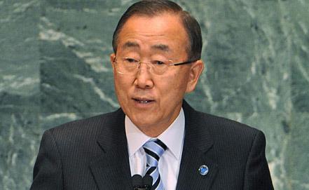 Пан Ги Мун, фото EPA/ИТАР-ТАСС
