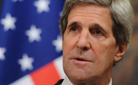 Госсекретарь США Джон Керри. Фото ИТАР-ТАСС/ Александра Мудрац