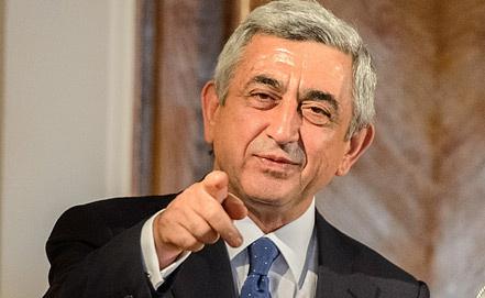 Президент Армении, фото EPA/ИТАР-ТАСС