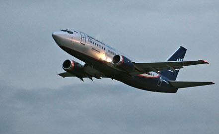 Пассажирский самолет Боинг-737. Фото из архива ИТАР-ТАСС/ Марина Лысцева