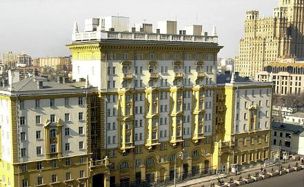 Здание посольства США в Москве. Фото ИТАР-ТАСС/Людмила Пахомова