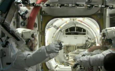EPA/ИТАР-ТАСС/NASA TV/HANDOUT