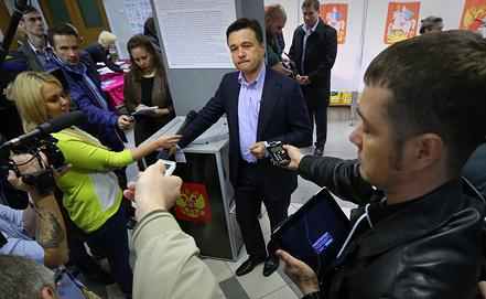 Андрей Воробьев. Фото ИТАР-ТАСС/ Валерий Шарифулин