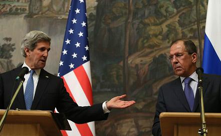 Госссекретарь США Джон Керри и глава МИД РФ Сергей Лавров. Фото из архива EPA/SERGEI ILNITSKY