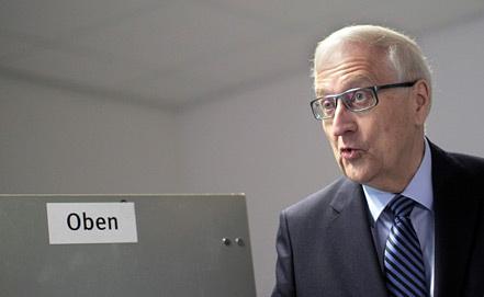 Райнер Брюдерле, фото EPA/FREDRIK VON ERICHSEN