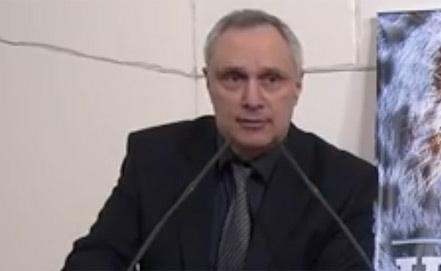 Вице-президент Международной Академии духовного единства Беслан Кобахия. Стоп-кадр Youtube.com/ Иван Мельник