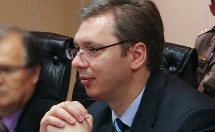 Премьер-министр Сербии Александр Вучич. Фото ИТАР-ТАСС/ Вадим Савицкий