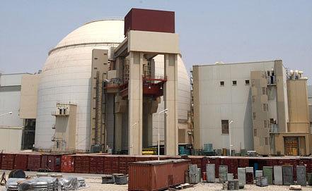 Бушерская АЭС. Фото  EPA/ABEDIN TAHERKENAREH