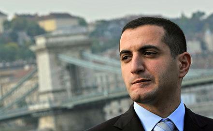 Экс-министр обороны Грузии Давид Кезерашвили. Фото из архива AP Photo/Bela Szandelszky