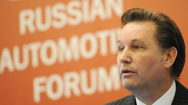 "Президент ""Группы ГАЗ"" Бу Инге Андерсен. Фото ИТАР-ТАСС/ Артем Коротаев"
