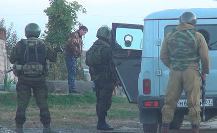 Стоп-кадр видео Пресс-службы МВД по Кабардино-Балкарской Республике