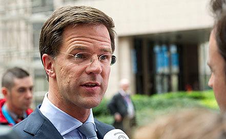 Марк Рютте. Фото AP Photo/Geert Vanden Wijngaert