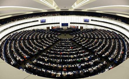 Заседание Европарламента. Фото EPA/PATRICK SEEGER