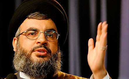 Хасан Насрулла. Фото AP Photo/Hussein Malla