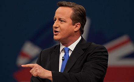 Премьер-министр Великобритании Дэвид Кэмерон. Фото AP Photo/Jon Super
