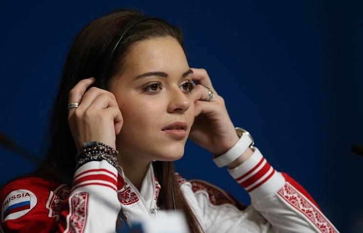 Russian figure skater Adelina Sotnikova