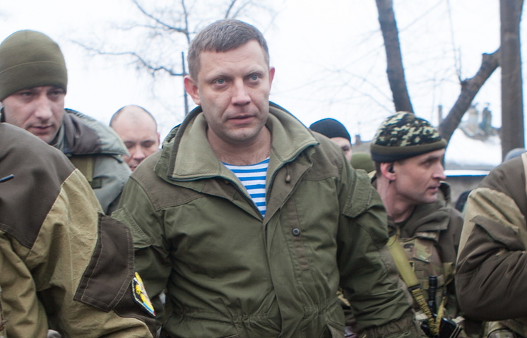 Militia leader Alexander Zakharchenko