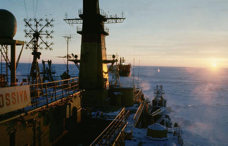 A view of the Kara Sea