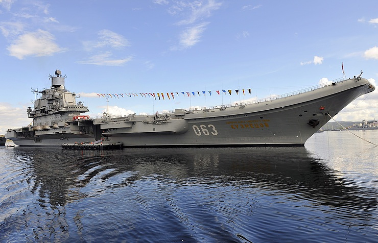 Admiral Kuztetsov aircraft carrier