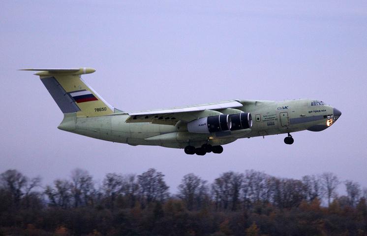 Ilyushin-76MD-90A plane