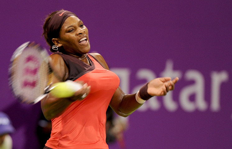 Победительница прошлогоднего итогового турнира WTA американка Серена Уильямс
