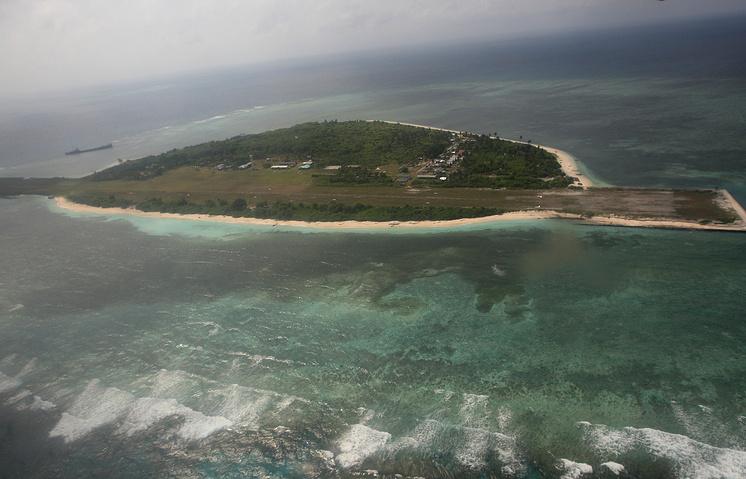 Один из островов архипелага Спратли