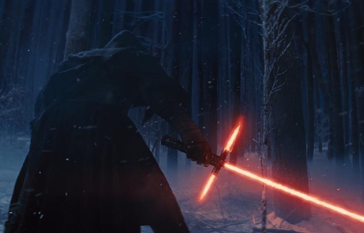 """Кадр из трейлера фильма """"Звездные войны. Эпизод VII: Пробуждение Силы"""""""