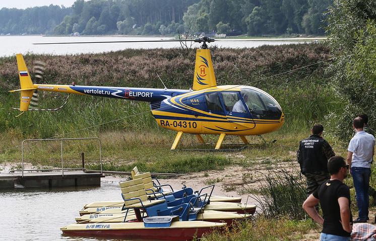 Поисково-спасательная операция на Истринском водохранилище