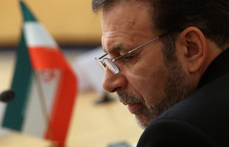 Министр связи и информационных технологий Ирана Махмуд Ваэзи на заседании российско-иранской межправительственной комиссии