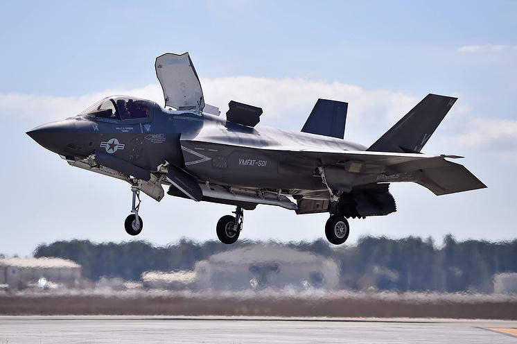 Истребитель F-35B Lightning II