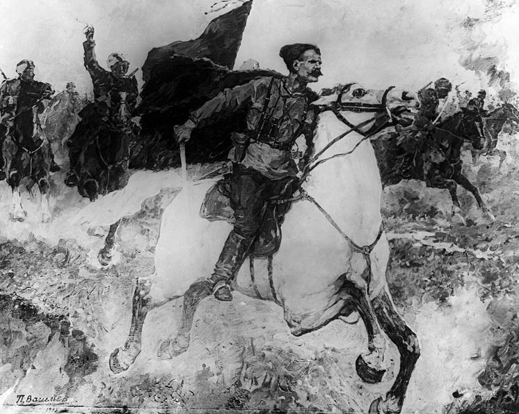 """Картина """"Чапаев в бою"""", 1937 год"""