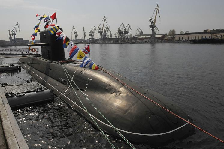 """Подводная лодка проекта 677 """"Санкт-Петербург"""""""