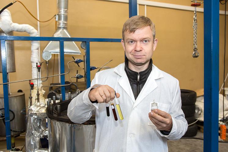 Сотрудник Физико-энергетического института Обнинска Владимир Ульянов