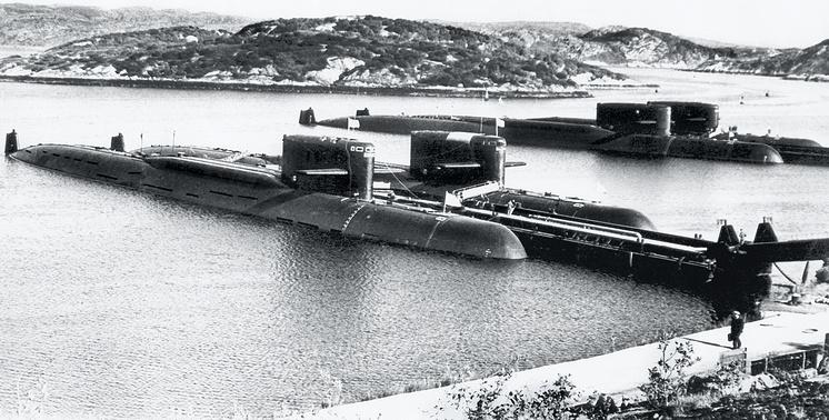 Подлодки проекта 667А