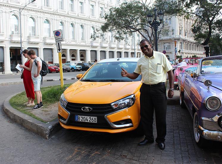Рубен – счастливый обладатель новой Lada Vesta