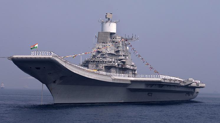 Индийский авианосец Vikramaditya, 2013 год