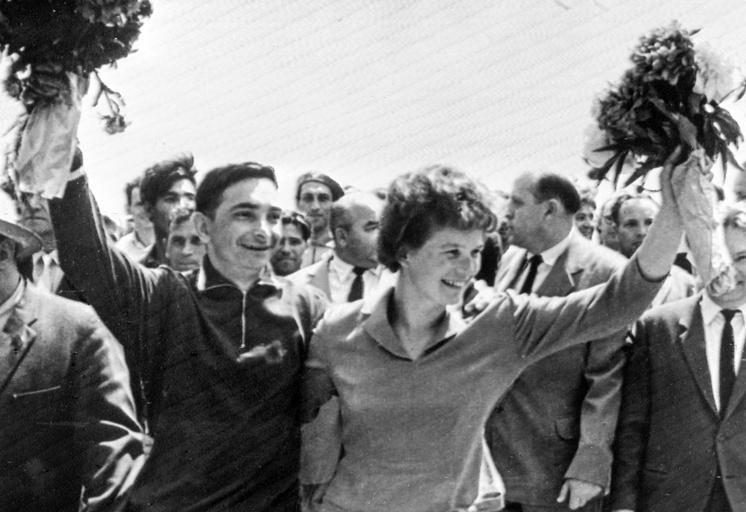 Валерий Быковский и Валентина Терешкова, 1963 год
