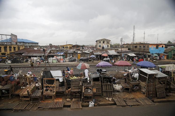 Трущобы в Лагосе, Нигерия