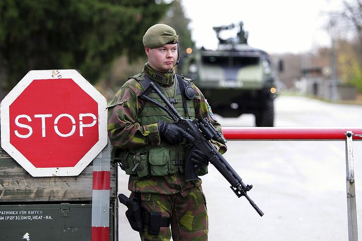 Военнослужащий ВС Финляндии